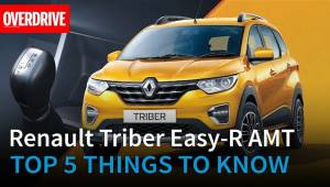 Renault Triber Easy-R AMT: Top 5 things to know