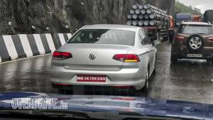 Upcoming Volkswagen Passat facelift spotted testing in India