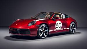 The Porsche 911 Targa 4S Heritage Design is a rolling tribute to Porsche's motorsport history