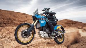 Yamaha Tenere 700 Rally Edition is a retro tribute to the 80s Paris Dakar machine