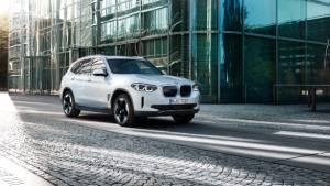 2020 BMW iX3 electric SUV revealed