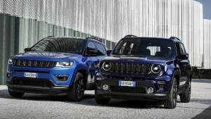 Jeep Compass 4xe and Renegade 4xe hybrid SUVs unveiled in Europe