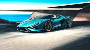 Soon anyone can drive the Lamborghini Sian Roadster!