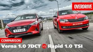 2020 Hyundai Verna 1.0 turbo vs Skoda Rapid 1.0 TSI - Comparison