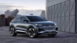 2020 Audi Q4 Sportback e-tron concept previews new electric coupe-SUV