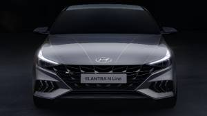 Hyundai previews the ultra-aggressive 2021 Elantra N Line we all knew was coming