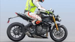 All-new Triumph Speed Triple spotted testing, could be powered by a 1,200cc triple