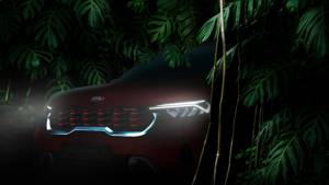 Kia Sonet Compact sub-4m SUV production-spec model to be unveiled on August 7