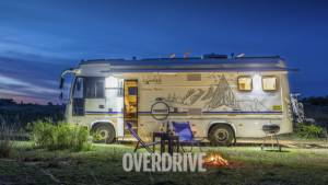 Counter to COVID-19: Luxury Camper Van Tourism