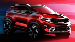 Kia Sonet compact sub-4m SUV's exterior and interior design revealed