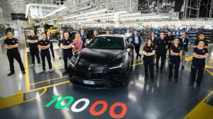 Lamborghini Urus becomes quickest to hit production milestone of 10,000 units
