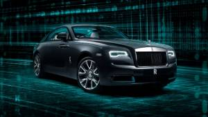 The Rolls-Royce Wraith Kryptos is the ultimate automotive Easter egg