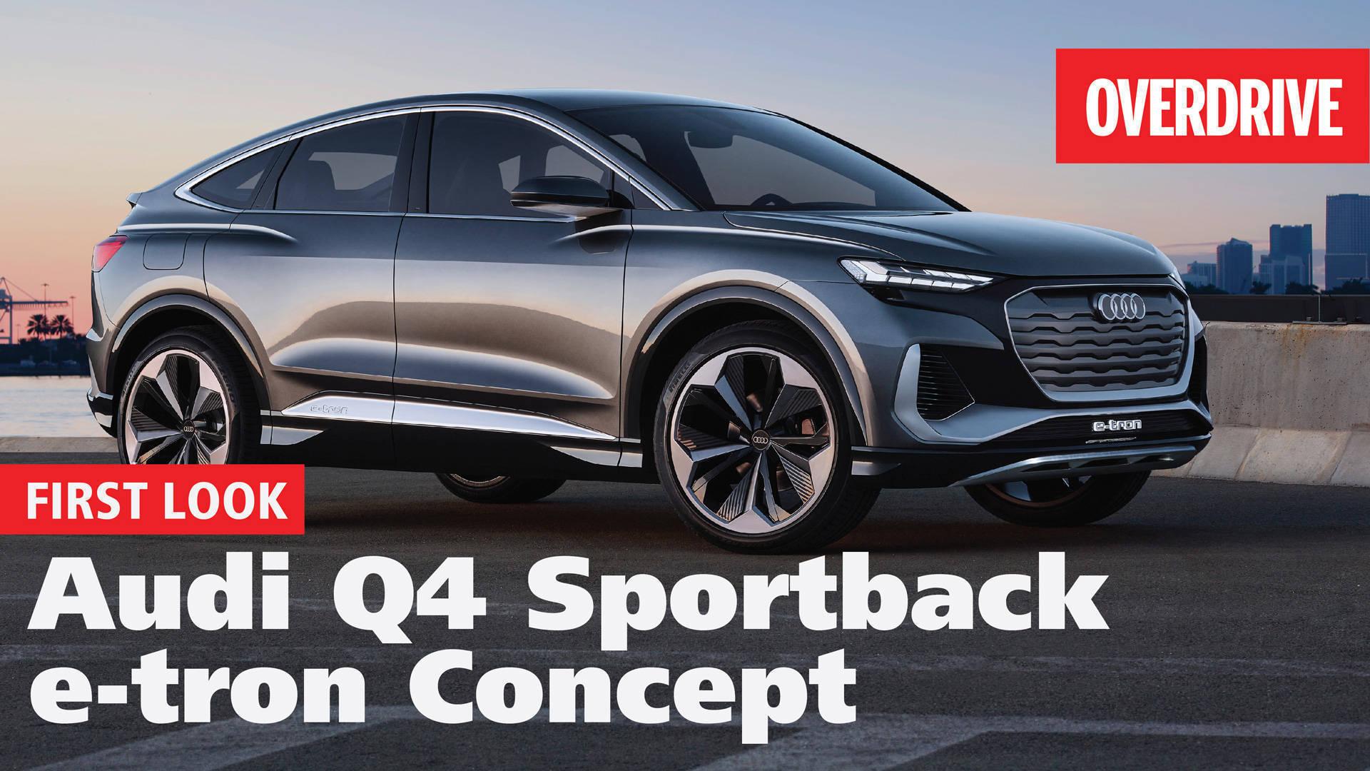 2020 Audi Q4 Sportback e-tron concept | First Look