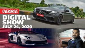 WATCH LIVE! OVERDRIVE Digital Show July 24 at 6 pm: Kia Sonet, Mercedes-AMG C 63 Coupe, Piaggio Scooters, Lamborghini Aventador SVJ Xago and Big Boy Toyz interview