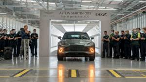 Aston Martin DBX SUV production begins in new facility