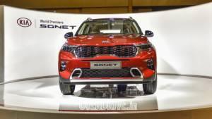 Image gallery: 2020 Kia Sonet India unveil