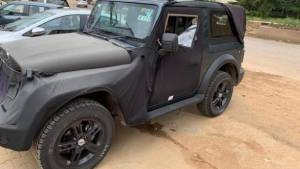 Upcoming new-gen Mahindra Thar SUV spied: Everything we know so far