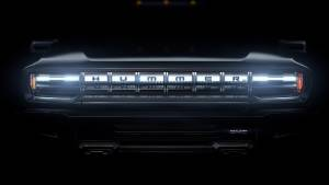 GMC drops teaser for Hummer EV with over 1,000PS and removable roof panels