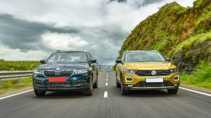 Exclusive comparison test: 2020 Skoda Karoq vs VW T-Roc