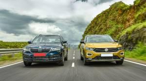 Exclusive comparison test: 2020 Skoda Karoq vs VW T-Roc