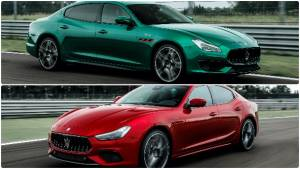 Maserati Ghibli and Quattroporte Trofeo pack 580PS V8 under the hood
