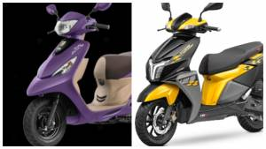TVS launches Zest 110 BSVI and introduces new shade on NTorq 125 Race Edition