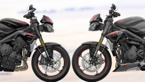 2020 Triumph Street Triple R vs RS - differences explained
