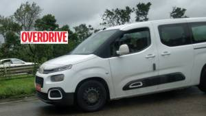 Citroen Berlingo MPV spotted testing, India-bound?