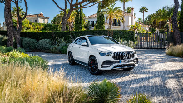 2020 Mercedes-AMG GLE 53 front static