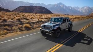 Jeep Wrangler 4xe plug-in hybrid showcased globally