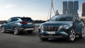 Edgy new-gen 2021 Hyundai Tucson premieres globally