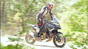 Upcoming Ducati Multistrada V4 spied again, this time on trails