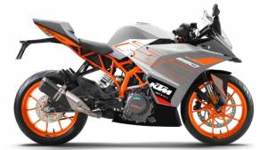 KTM RC series gets new colours, prices remain unchanged