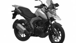 Suzuki V-Strom 160 adventure motorcycle in works?