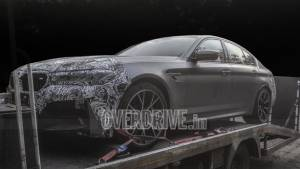 Upcoming 2021 BMW M5 facelift spied under camouflage in India