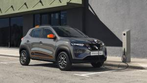 Renault Kwid-derived Dacia Spring EV hatchback unveiled in Europe