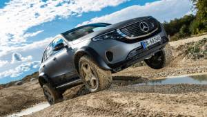 One-off Mercedes-Benz EQC 4x4 squared extreme off-roader revealed