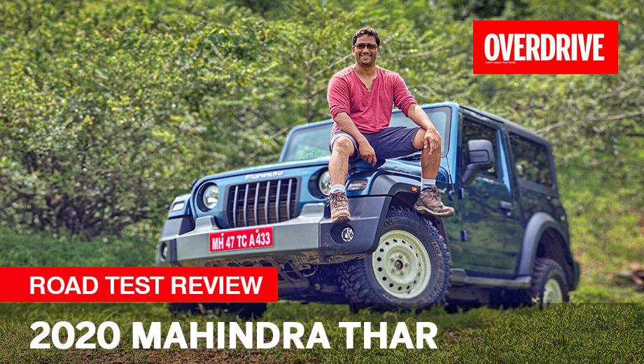 2020 Mahindra Thar - Road Test Review