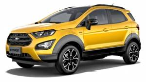 Rugged Ford EcoSport Active leaked before official international unveil