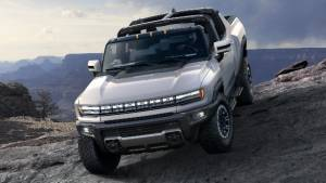 All-electric GMC Hummer unveiled, with 1,000PS and 560+km driving range