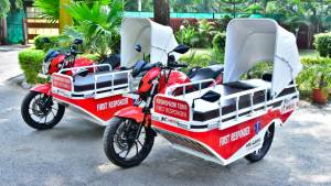 Hero MotoCorp donates First Responder Vehicles to Himachal Pradesh