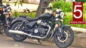 Upcoming Royal Enfield parallel-twin cruiser spotted again: Top Five Highlights