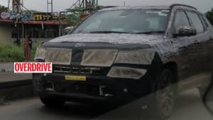 Jeep Compass 7-seater SUV spotted testing ahead of launch next year
