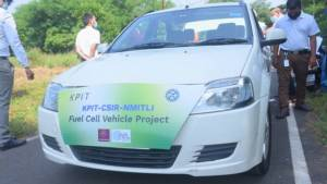India's first hydrogen fuel cell car completes trial runs