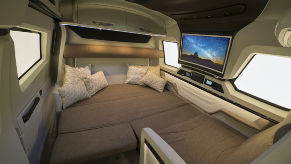 Counter to COVID - A Stylish and Luxurious - Expandable Motorhome