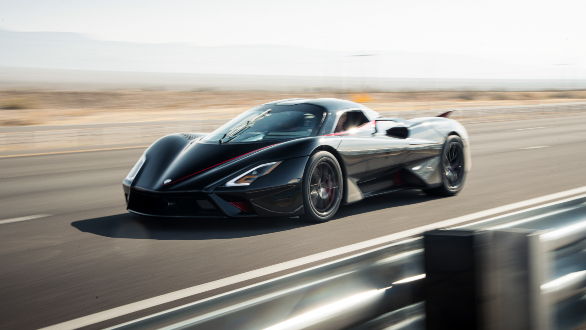 This is the world's new fastest production auto, which just reached 509km/h