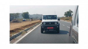 Maruti Suzuki Jimny 4x4 spotted testing in India