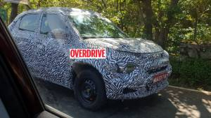 Production-spec Tata HBX crossover spotted testing ahead of launch