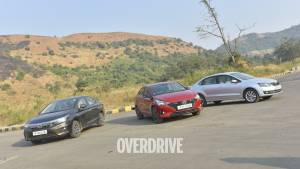Comparison: Honda City CVT vs Hyundai Verna DCT vs Skoda Rapid AT