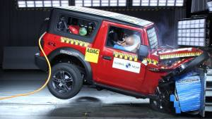 Mahindra Thar scores four stars in Global NCAP crash tests